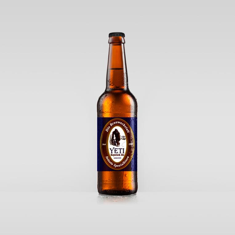 Yeti Bier - bayerisch Ale